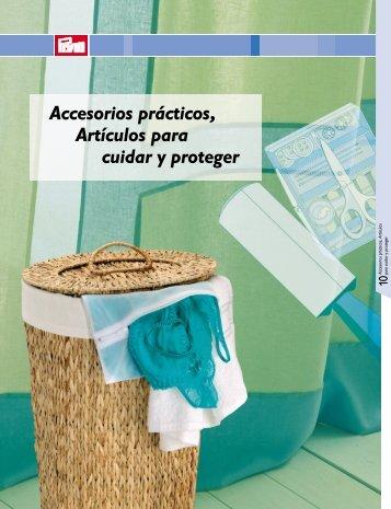 Accesorios prácticos, Artículos para cuidar y proteger