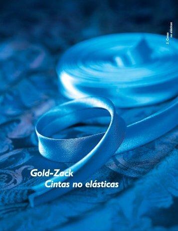 Gold-Zack Cintas no elásticas