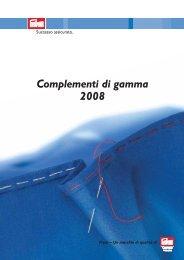 Complementi di gamma 2008 - Prym Consumer