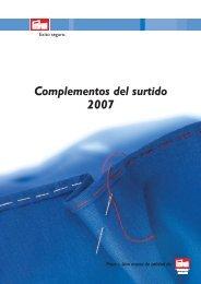 Prym Complementos del surtido 2007 - Prym Consumer