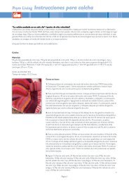 Prym Living Instrucciones para colcha