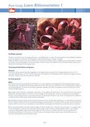 Blütenvariation 1 - Prym
