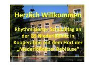 A 4: Rhythmisierung in der Grundschule den ganzen Tag? - Sachsen