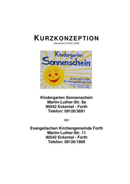 Kindergarten Sonnenschein Martin-Luther-Str. 8a 90542 Eckental