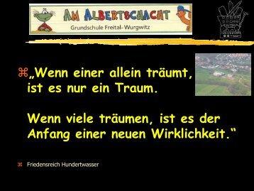 Präsentation Grundschule Freital-Wurgwitz - Sachsen
