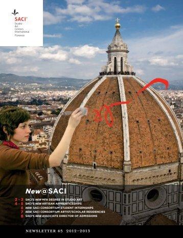 New: SACI Consortium Artist/Scholar Residencies - Studio Art ...