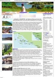 Inselhüpfen Dalmatien : ein... - Sackmann Fahrradreisen