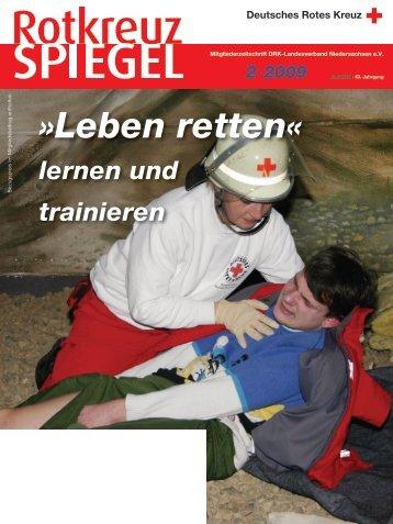 Rotkreuz-Spiegel 2009-2 - DRK Landesverband Niedersachsen