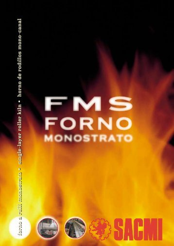 FMS Single-layer roller kiln - Sacmi