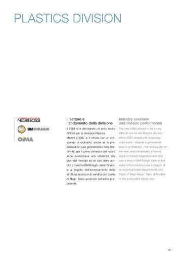 ANNUAL_REPORT Plastics 2008 - Sacmi