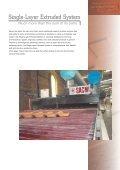 Impianto Estruso Monostrato • Single-La yer Extruded S ystem - Sacmi - Page 3