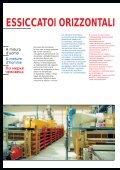 ESSICCATOI ORIZZONTALI SECHOIRS ... - Sacmi Forni - Page 2