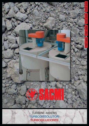 turbine-mixers turbodissolutori turbodiluidores - Sacmi