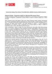 Comunicato stampa completo - Sacmi