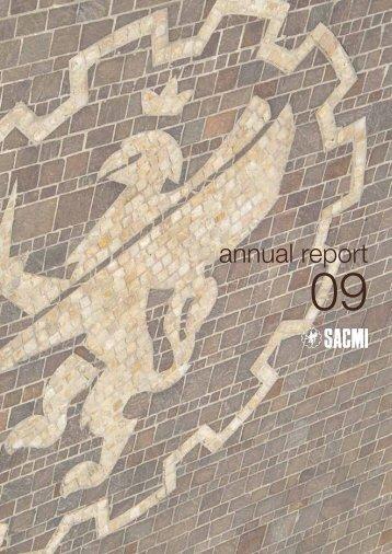 Annual report 2009 - Sacmi