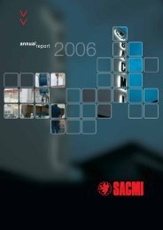 Annual report 2006 - Sacmi