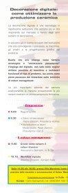 Programma e iscrizione al convegno - Sacmi - Page 2