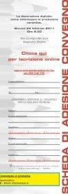 Programma e iscrizione al convegno - Sacmi - Page 5