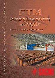 F orno a tunnel per tegole • Roof tile tunnel kiln - Sacmi