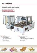 TF12 macchina formatrice automatica di plateaux (en, it, es ... - Sacmi - Page 2