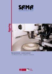Bechertaktstrasse - Numerishgesteuert - Katalog - Sama