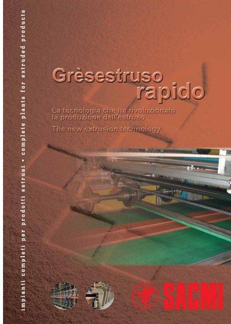Grèsestruso Rapido - Catalogo - Sacmi