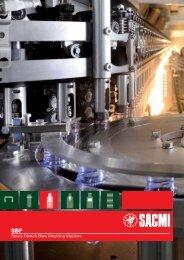 Rotary Stretch Blow Moulding Machine - Sacmi