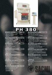 PH 380 - Sacmi