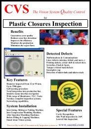 Plastic Closures Inspection System Installation - Sacmi