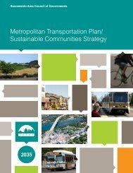 Metropolitan Transportation Plan/ Sustainable Communities ... - sacog