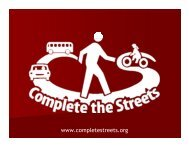 Introduction to Complete Streets - sacog