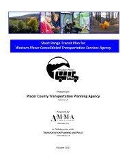 Short Range Transit Plan for Western Placer Consolidated ... - sacog