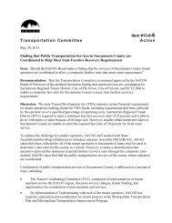 Item #13-6-6 Transportation Committee Action - sacog