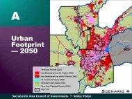 Urban Footprint — 2050 - sacog