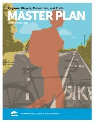 Draft Regional Bicycle, Pedestrian, and Trails Master Plan - sacog