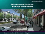 Reinvestment Evolution: Private Investment - sacog