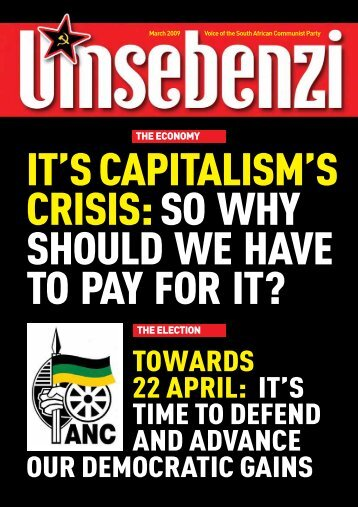 It`s Capitalism` - South African Communist Party