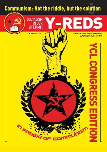 YCL CONGRESS EDITION - South African Communist Party