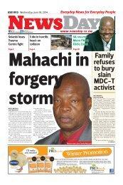 Newsday 18 June 2014