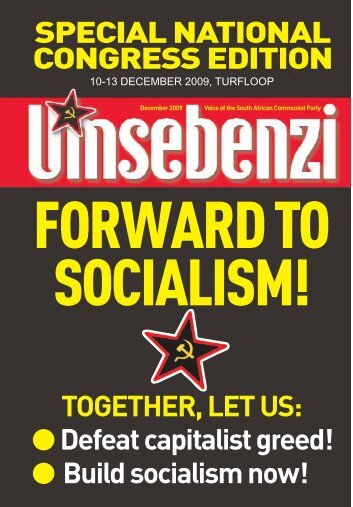 Forward to Socialism!! - South African Communist Party