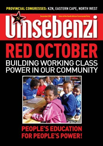 Red October: Building working class - South African Communist Party