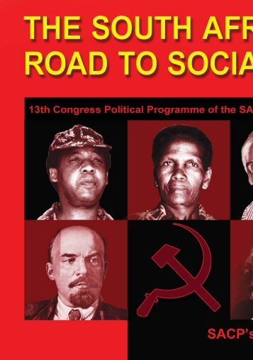 13th Congress Political Programme of the SACP 2012 - 2017
