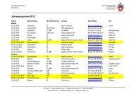 Jahresprogramm 2012 - SAC Sektion Rätia