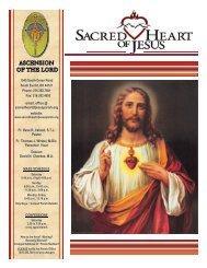 June 5, 2011 - Sacred Heart of Jesus Parish