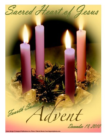 December 19, 2010 - Sacred Heart of Jesus Parish