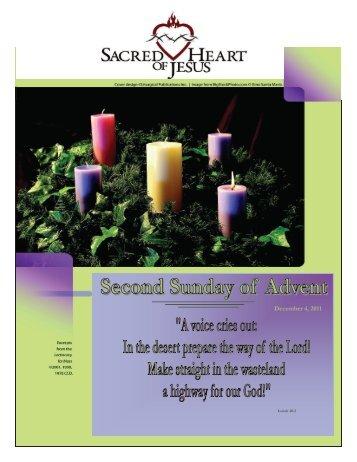 December 4, 2011 - Sacred Heart of Jesus Parish