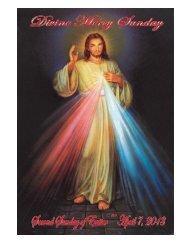 April 7, 2013 - Sacred Heart of Jesus Parish