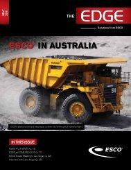 ESCO® IN AUSTRALIA - ESCO Corporation