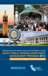 sacrs public pension investment management program 2012