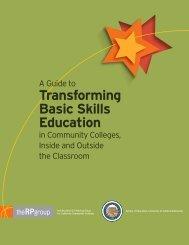 Transforming Basic Skills Education - RP Group - Saddleback College